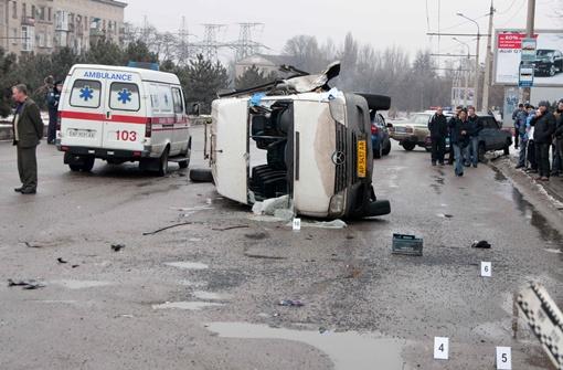 Место аварии. Фото Павла ВЕСЕЛКОВА