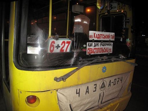 Водитель маршрутки №227 знал, что у него не работают тормоза. Фото Николая Шинкаря