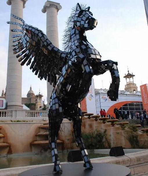 Новое видение крылатого коня. Фото Huawei