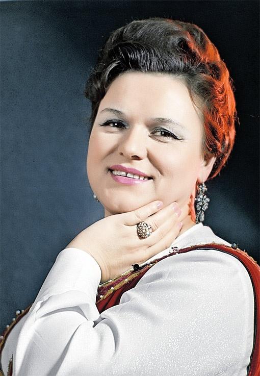 Людмила Зыкина даже представить не могла, какие войны разгорятся за ее наследство. Фото РИА -