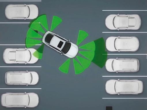 Парковочный ассистент подразумевает обмен данными при въезде на парковку, когда центр управления в гараже