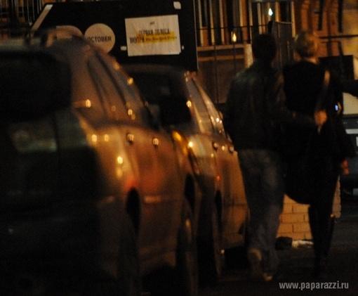 Объятья..Фото: paparazzi