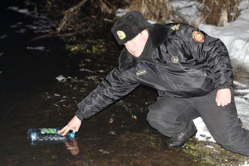 В Житомирской области создана специальная комиссия по изучению ситуации на реку Уж. Фото Ассоциации рыболовов Украины.