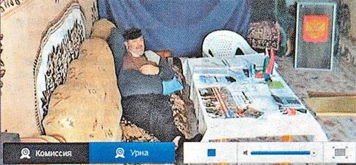 Хит просмотров. Поселок Меседой в Чечне. Избирательный участок оборудован на дому. По-домашнему тепло все прошло.