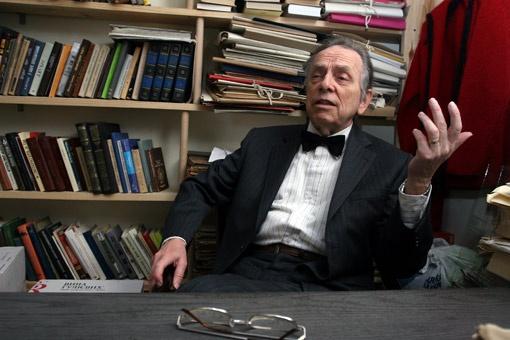 Первый директор музея Булгакова Анатолий Кончаковский.