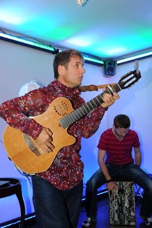 На одесском концерте музыкант не произнес ни слова. Фото из архива