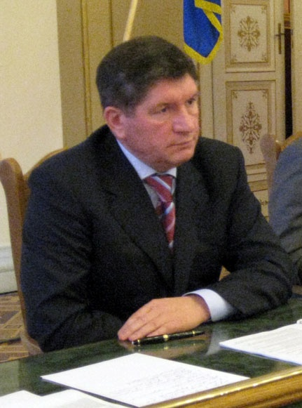 Михаил Костюк, председатель Львовского облсовета