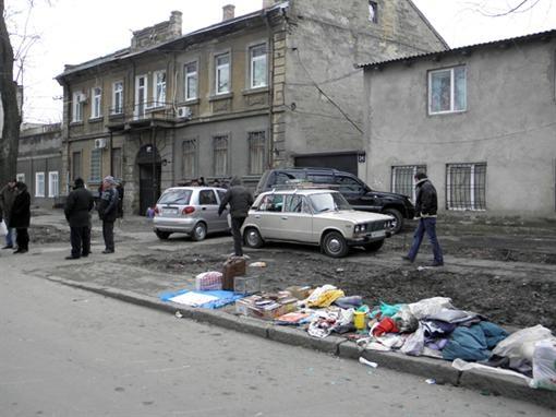 Авария произошла на одесской Молдаванке. Фото с сайта nr2.com.ua.
