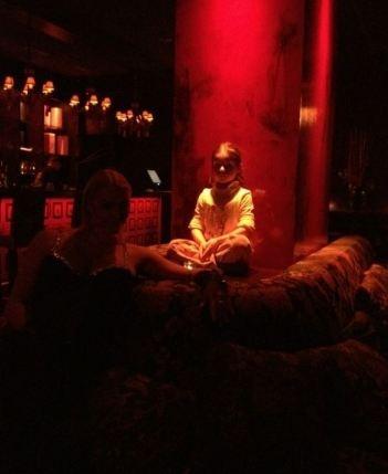Ариша в восторге от ночной жизни, - уверяет балерина. Фото: Твиттер Волочковой