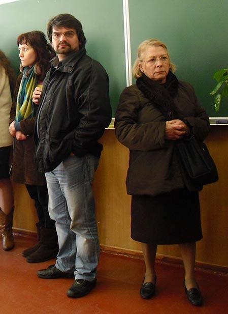 Итальянские родственники - папа и бабушка - и в этот раз уехали ни с чем. Фото автора.