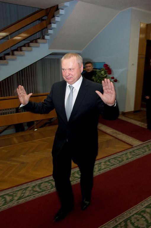 Губернатор доволен, что молва начала его