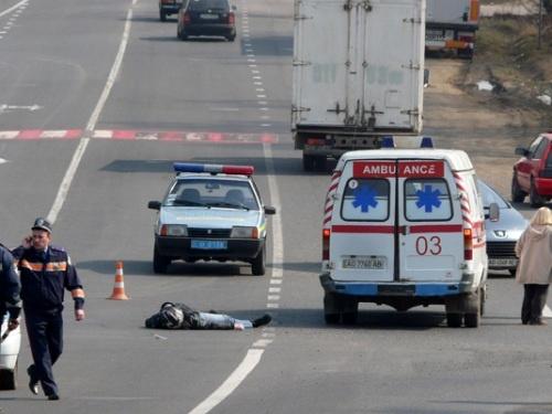 В милиции пока не сообщают, кто был за рулем джипа. Фото с сайта UA-Reporter.com