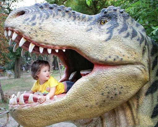 Древние чудовища будут в натуральную величину. Фото с сайта www.donbass.ua.