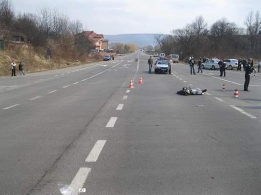Место аварии. Фото с сайта УГАИ Закарпатской области