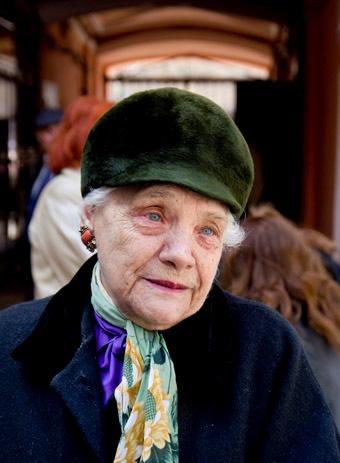 Племянница Утесова. Фото Алексея Кравцова.