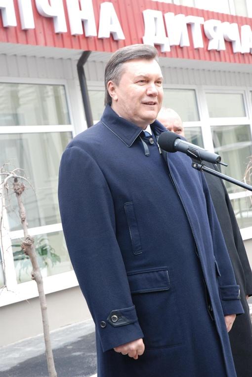 Выступление президента. Фото Павла Василькова