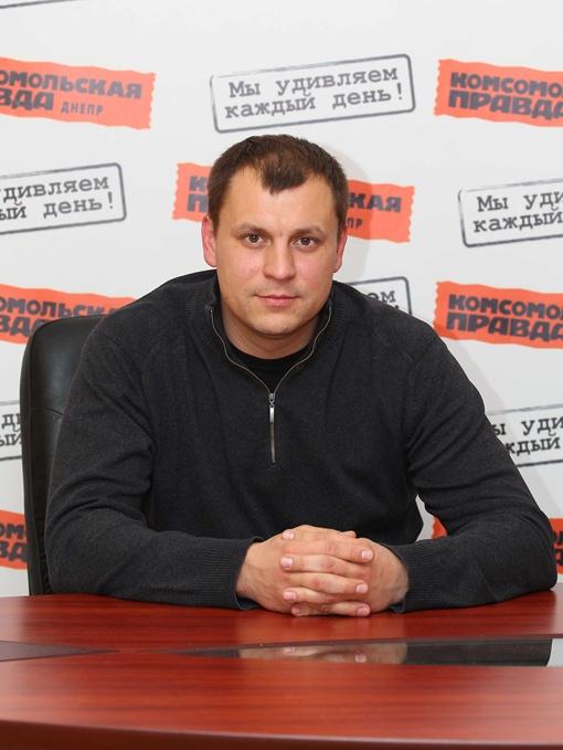 Андрей Анатольевич Мирошниченко. Фото Дениса МОТОРИНА.