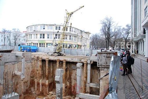 Паркинг до обрушения... Фото с сайта timer.od.ua