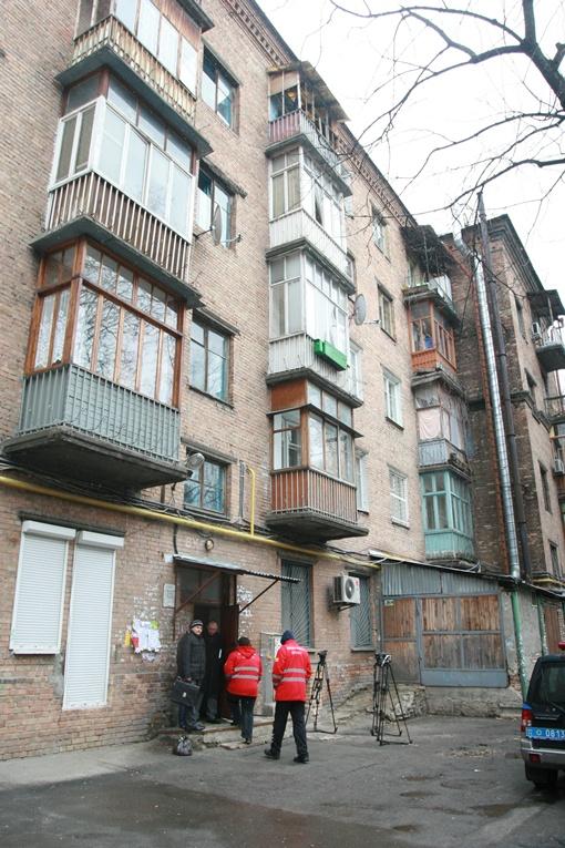 Пожар случился на пятом этаже