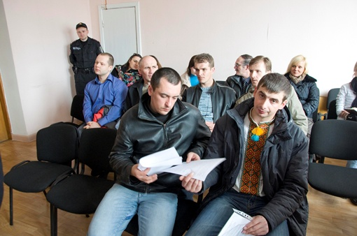 На суде подсудимые были сдержанны и сосредоточены. Фото Павла ВЕСЕЛКОВА