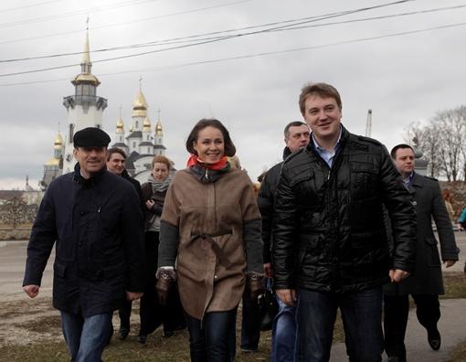 Наталия Королевская после экскурсии в Буках: