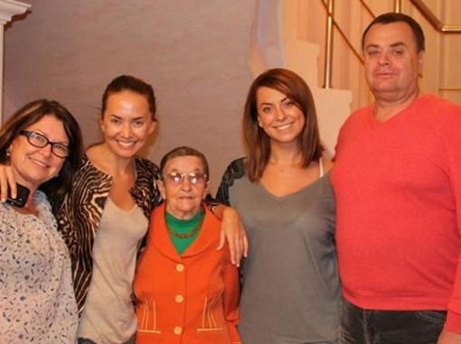 Семья Жанны Фриске.  Фото:
