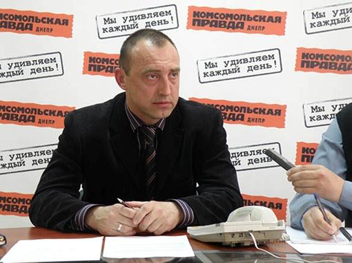 Замначальника горуправления Днепропетровска по охране окружающей среды Юрий АЛЕКСЕЙЧУК