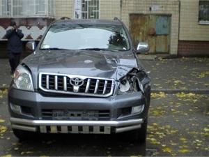 Авто Дмитрия Рудя после аварии. Фото из архива КП