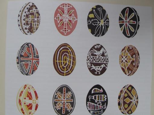 Идея собирать пасхальные яйца возникла у помещицы из Лубен Екатерины Скаржинской