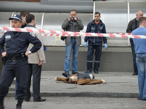 Геннадия Аксельрода убили. Фото Максима Мирошниченко