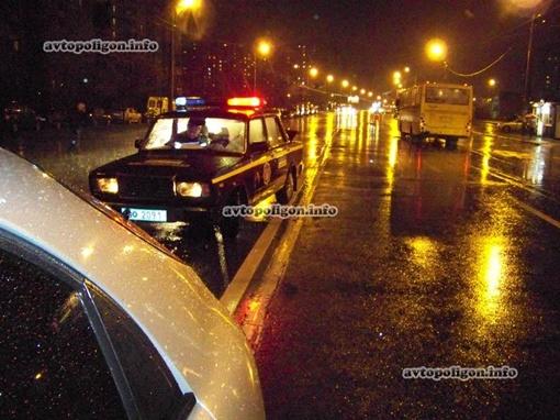Во время ДТП лил дождь. Дорога была скользкой. Фото: Автополигон