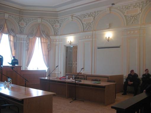 Зал № 2 на втором этаже областной апелляции - самый вместительный, в нем 120 мест.