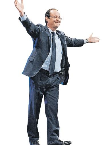 ...А социалист Франсуа Олланд готов принять на себя президентские полномочия. Фото globallookpress.com.