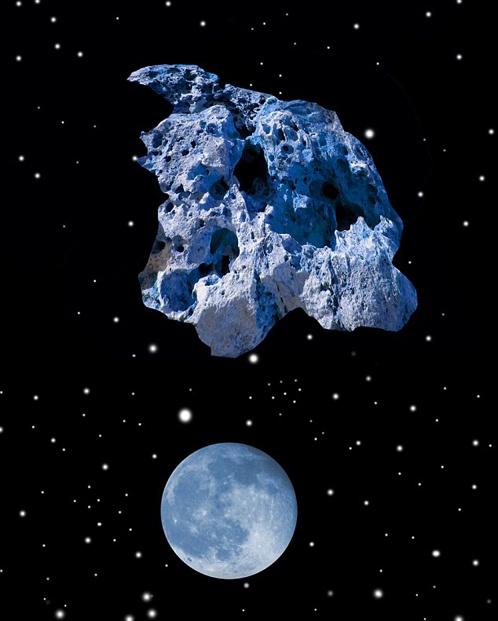 Начало реальной добычм полезных ископаемых в космосе намечено на 2025 год. Фото с сайта НАСА