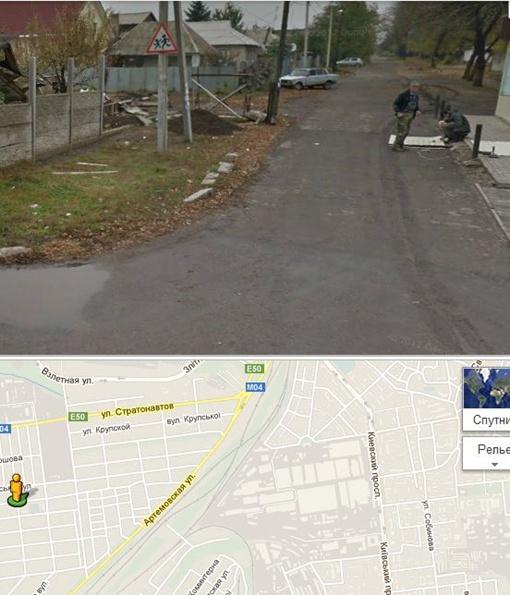 Панорамы Google - новый для Донецка сервис