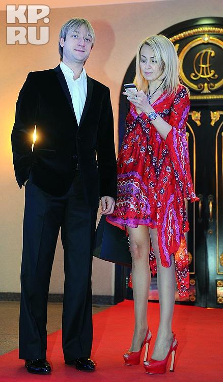 Евгений Плющенко и Яна Рудковская. Фото: Евгения ГУСЕВА