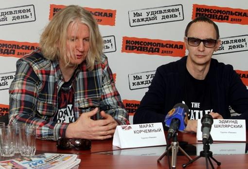 Эдмунд Шклярский и Марат Корчемный в редакции