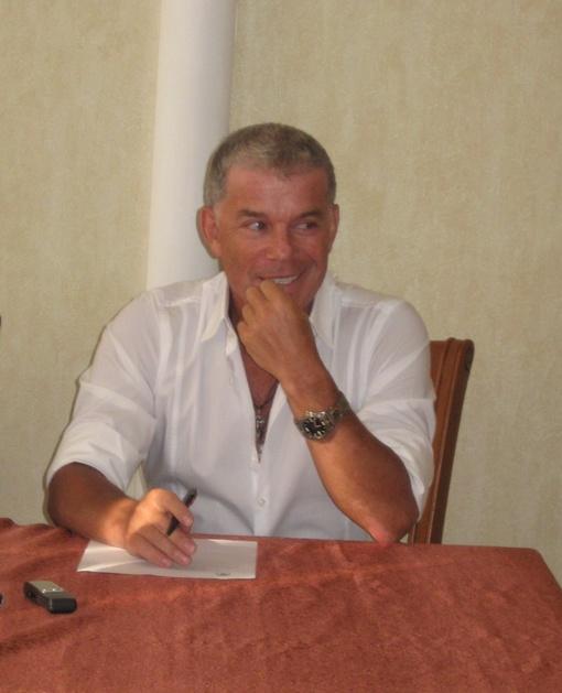 Газманов излучает оптимизм. Фото автора.