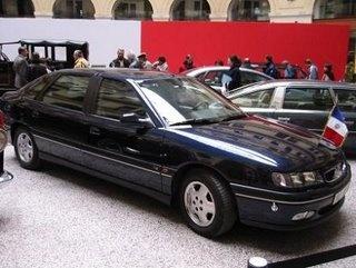 Саркози из всего автопарка предпочитает Renault Safrane Biturbo за $16 000 долларов.