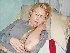 Юлия Тимошенко выходит из голодания под наблюдением врачей. Фото УП