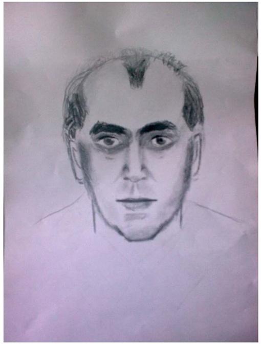 Фоторобот четвертого подозреваемого в организации взрывов в Днепропетровске 27 апреля