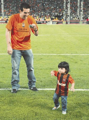 Илсиньо-старший и его дочь Джавана: - Даже в Бразилии знают, что