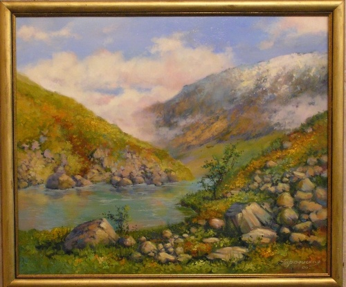 Алтай. Горное озеро. Фото с сайта perfectart.ru