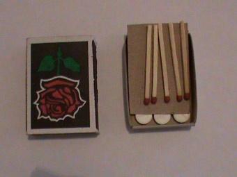 Таблетки в спичках. Фото из архива