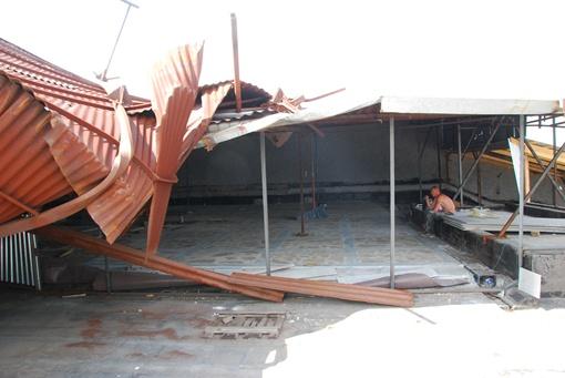 Здание серьезно пострадало