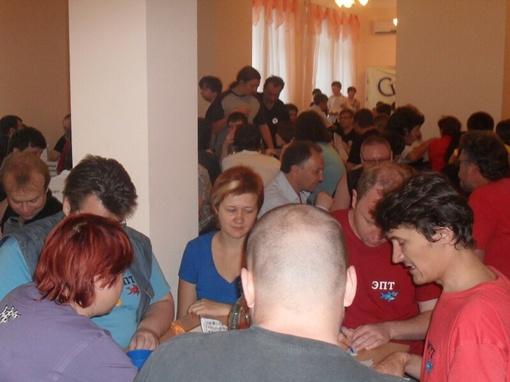 Команды в зале. Фото автора