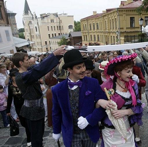 По спуску прошлись Голохвастов в Проней. Фото: пресс-служба КГГА.