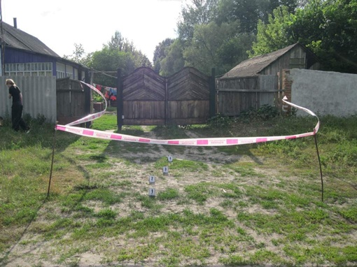 В этом доме все и произошло. Фото: ЦОС ГУМВД Украины в Сумской области