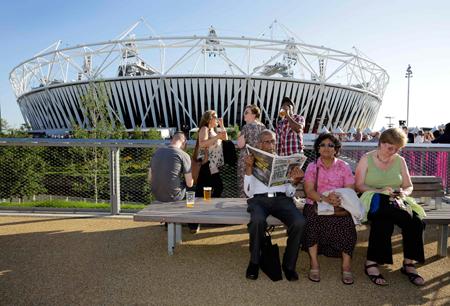 На главном стадионе Игр-2012 уже состоялась генеральная репетиция церемонии открытия, до которой остается три дня.