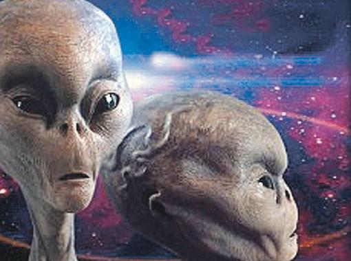 Такими чаще всего изображают инопланетян.